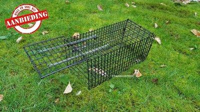 2 x Rattenvangkooi zwart